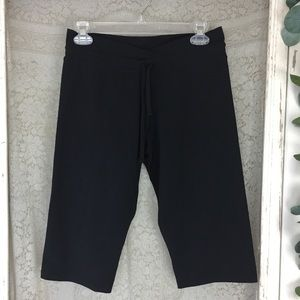 prAna black breathe capri crop fit pants yoga XS